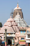De tempel Jagannath in Puri royalty-vrije stock foto