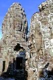 De Tempel Kambodja van Bayon Stock Afbeeldingen