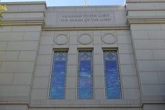 De Tempel Omaha Nebraska van de winterkwarten Royalty-vrije Stock Foto