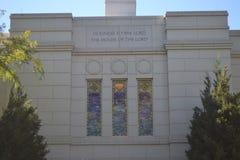 De Tempel Omaha Nebraska van de winterkwarten Stock Foto