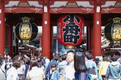 De Tempel Senso -senso-ji in Asakusa Royalty-vrije Stock Foto