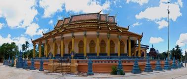 De tempel in Siem oogst stock foto's