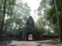 De tempel in Siem oogst Stock Afbeelding