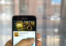 De tempel stelt spel in werking Royalty-vrije Stock Foto