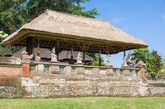 De tempel Taman Ayun op Bali Stock Foto