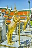 De tempel Thailand van Bangkok van Watphra kaew Stock Foto