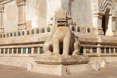 De tempel van Ananda in bagan, Myanmar Stock Foto