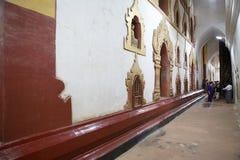 De tempel van Ananda in bagan, Myanmar Stock Afbeeldingen