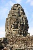 De tempel van Angkor - Bayon Stock Foto's