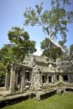 De tempel van Angkor wat Royalty-vrije Stock Fotografie
