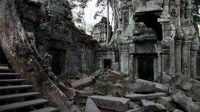 De tempel van Angkorthom complex in Siem oogst, Kambodja