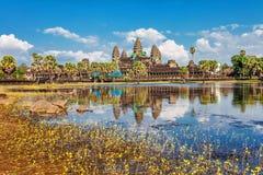 De tempel van Angkorwat Royalty-vrije Stock Afbeelding