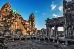 De tempel van Angkorwat Royalty-vrije Stock Foto's