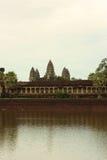 De tempel van Angkorwat Stock Foto's