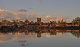 De tempel van Angkorwat stock afbeelding