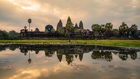De tempel van Angkorwat Siem oogst, het koninkrijk van Kambodja stock foto's