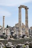 In de Tempel van Apollo royalty-vrije stock fotografie