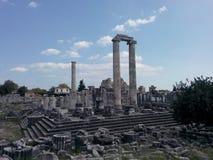 De tempel van Apollon Stock Afbeelding