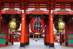 De Tempel van Asakusa van Sensoji royalty-vrije stock foto