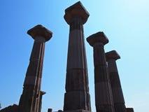De tempel van Athena Royalty-vrije Stock Foto