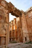 De Tempel van Bacchus Stock Fotografie