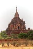 De Tempel van Bagan Stock Foto