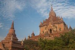 De Tempel van Bagan Stock Afbeeldingen