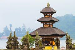 De Tempel van Bali stock afbeelding