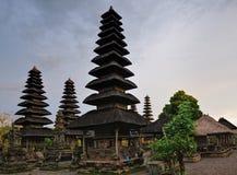 De Tempel van Bali - van Taman Ayun Royalty-vrije Stock Foto's