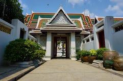 De tempel van BANGKOK, THAILAND, het Boeddhismegodsdienst van Bangkok - van Thailand royalty-vrije stock foto