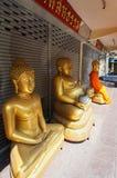 De tempel van BANGKOK, THAILAND, het Boeddhismegodsdienst van Bangkok - van Thailand royalty-vrije stock afbeeldingen