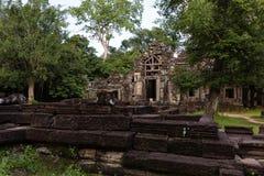De tempel van Banteay Kdei Stock Afbeeldingen