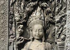 De tempel van Bayon Royalty-vrije Stock Foto
