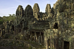 De Tempel van Bayon Stock Foto