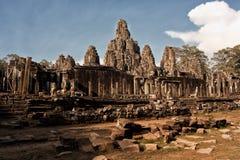 De Tempel van Bayon Stock Foto's