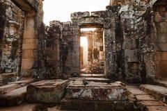 De Tempel van Bayon in Angkor Royalty-vrije Stock Foto's