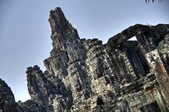 De Tempel van Bayon in Kambodja Stock Foto's