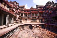 De Tempel van Bayon, Kambodja royalty-vrije stock fotografie