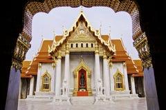 De tempel van Benchamabophit van Bangkok Thailand Royalty-vrije Stock Foto