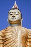 De tempel van Boedha in Sri Lanka Stock Foto