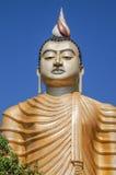 De tempel van Boedha in Sri Lanka Royalty-vrije Stock Foto's