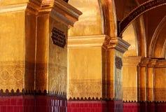 De Tempel van Boedha van Mahamuni stock afbeeldingen