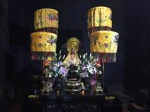 De tempel van Boedha in Vietnam, Nha Trang, Boeddhisme stock afbeeldingen