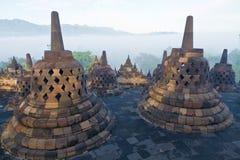 De Tempel van Borobudur Royalty-vrije Stock Foto