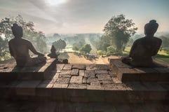 De Tempel van Borobudur Royalty-vrije Stock Fotografie