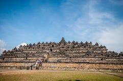 De Tempel van Borobudur Royalty-vrije Stock Afbeeldingen