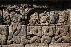 De Tempel van Borobudur, Centraal Java, Indonesië Royalty-vrije Stock Fotografie