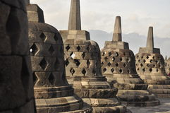 De tempel van Borobudur in Indonesië Royalty-vrije Stock Foto