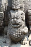 De Tempel van Borobudur, Yogyakarta, Java, Indonesië Royalty-vrije Stock Foto's