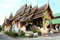 De tempel van Buddist in Ayutthaya Royalty-vrije Stock Foto